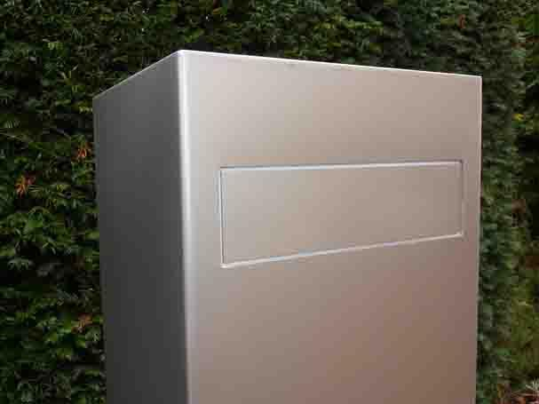 boite aux lettres inox. Black Bedroom Furniture Sets. Home Design Ideas